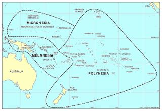 Oceania Map - Oceania map