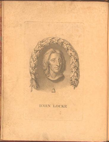 Print of John Locke Law and Politics Revolutionary Wars Social Studies Geography Philosophy