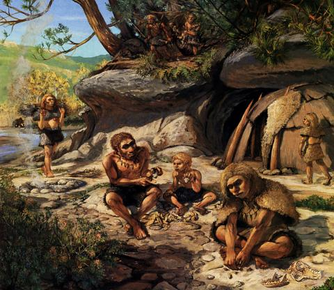 Evidence that Neanderthals Used Fire