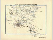 Path of the Great Storm of 1900