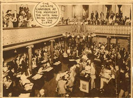 19th Amendment Becomes Law - Vote in Tennessee Law and Politics American History Civil Rights Government Social Studies