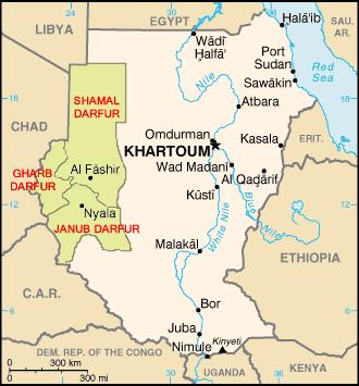 Omdurman Map