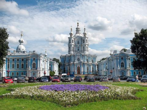Smolny Convent in St Petersburg Censorship Russian Studies Philosophy