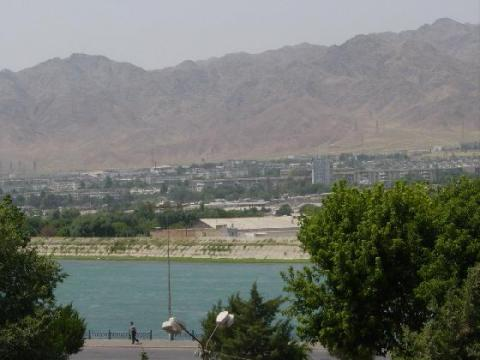 Khujand - Area View Ancient Places and/or Civilizations World History Geography