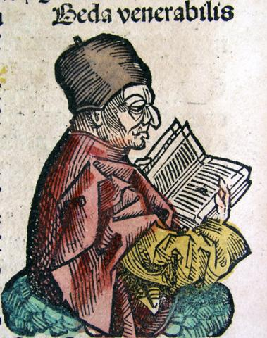 Venerable Bede Drawing Legends and Legendary People World History History Famous People
