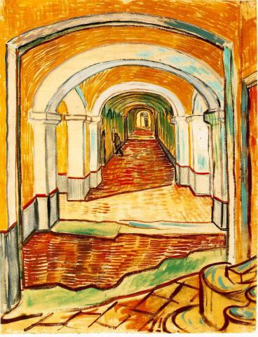 Corridor in the Asylum Biographies Famous People Tragedies and Triumphs Visual Arts Nineteenth Century Life