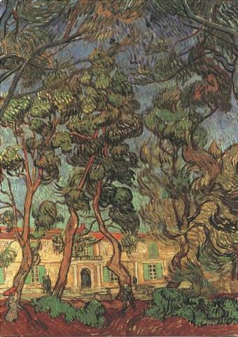Trees in the Garden of Saint-Paul Hospital Biographies Visual Arts Nineteenth Century Life Tragedies and Triumphs