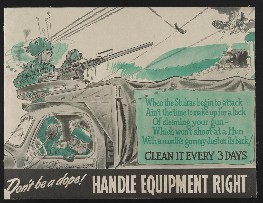 Joe Dope - Cartoons from WWII