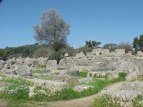 Ruins at the Great Temple of Zeus Ancient Places and/or Civilizations Archeological Wonders Philosophy