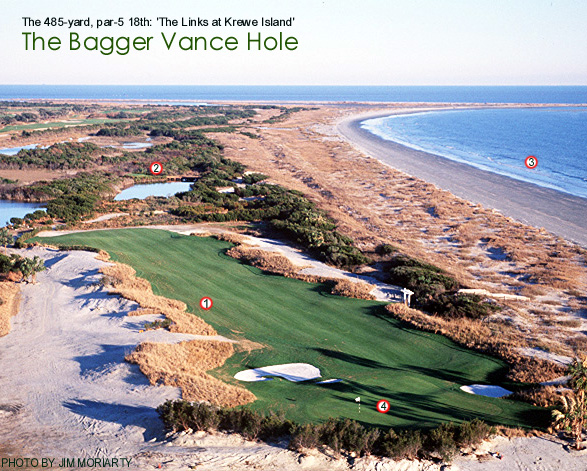 Bagger vance golf course