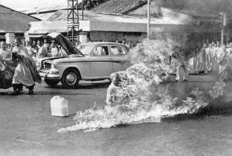 Thich Quang Duc - Buddhist Priest on Fire American History American Presidents Civil Rights Famous Historical Events Famous People Law and Politics Ethics