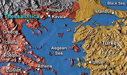 Map Depicting Thessalonica Civil Rights History Social Studies Tragedies and Triumphs Geography