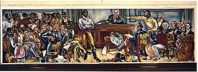 Image of the First Trial American History African American History Civil Rights Slaves and Slave Owners Social Studies Trials Law and Politics Disasters