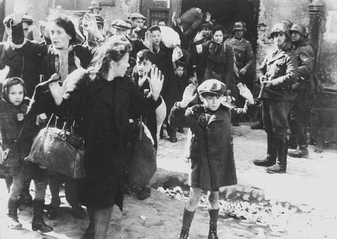 THE WARSAW GHETTO IS NO MORE (Illustration) Civil Rights Disasters Geography Social Studies World War II Ethics Film