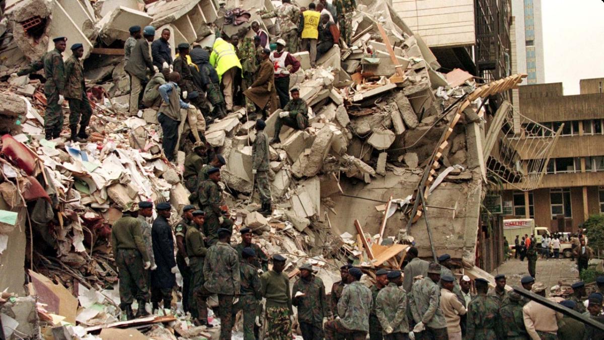 America Attacked: 9/11 - PRIOR ATTACKS - EMBASSY BOMBINGS
