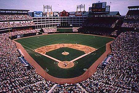 Ranger Stadium, Arlington, Texas Social Studies American History Film Sports