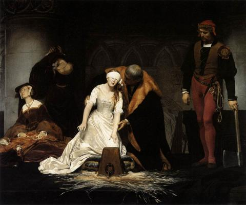 Beheading of Lady Jane Grey Government Legends and Legendary People Social Studies Visual Arts World History Tragedies and Triumphs