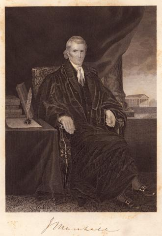 Chief Justice John Marshall Famous People American History Government History Law and Politics Trials