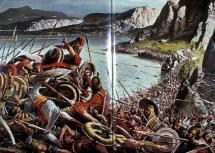 300 - Battle Scene at Thermopylae