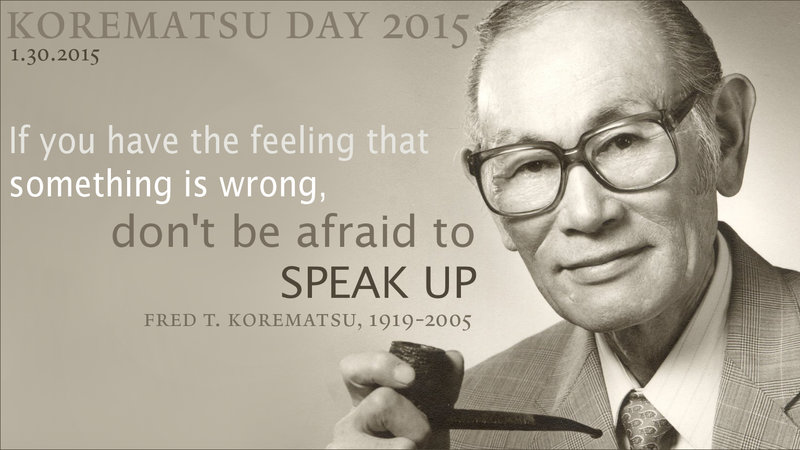 Fred Korematsu Quotes Simple JapaneseAmerican Internment LESSONS And LEGACY