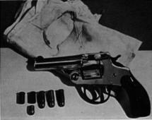 .32 Caliber Short Barreled Johnson Revolver - McKinley Death
