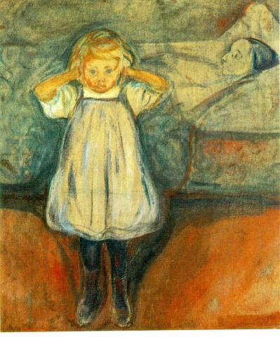 Edvard Munch - The Dead Mother Disasters Famous Historical Events Medicine Tragedies and Triumphs Visual Arts Famous People
