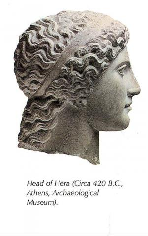Statue of Hera Ancient Places and/or Civilizations Archeological Wonders Social Studies World History Philosophy