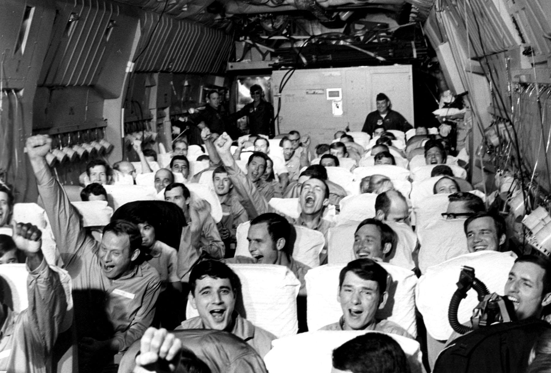 Returning American Prisoners of War