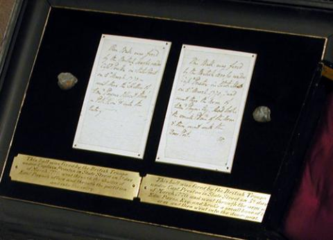Actual Bullets from the Boston Massacre