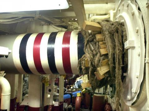 USS Cole - Hull Damage Control American History Famous Historical Events Tragedies and Triumphs Disasters