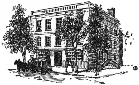 First Presidential Mansion-No. 1 Cherry Street