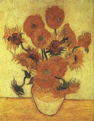 Vase with Fifteen Sunflowers - $39.5 Million Famous People Tragedies and Triumphs Nineteenth Century Life Visual Arts