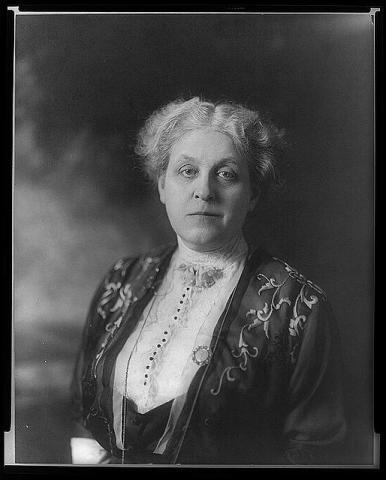 Suffragist - Carrie Chapman Catt Visual Arts American History Civil Rights Famous People Law and Politics