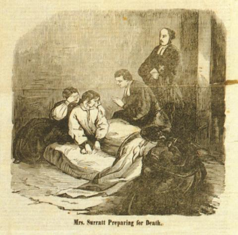FREDERICK AIKEN and the TRIAL of MARY SURRATT (Illustration) American History American Presidents Civil Wars Famous Historical Events Film Social Studies Trials Nineteenth Century Life Crimes and Criminals