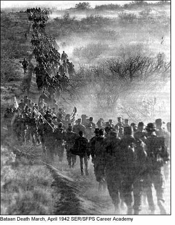 Bataan Death March Photo Famous Historical Events Geography Social Studies World War II Visual Arts