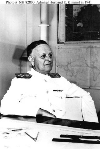 Husband E. Kimmel, U.S. Admiral - Pearl Harbor, 1941 Disasters Famous Historical Events Government World War II American History