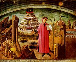 Purgatory and Dante's Divine Comedy (Illustration) Famous Historical Events Geography Visual Arts Famous People History Philosophy Social Studies World History Fiction Tragedies and Triumphs