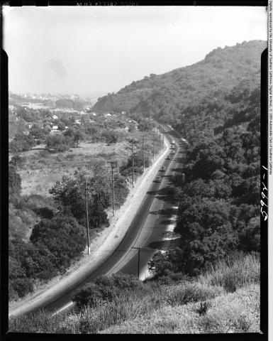 1946: View from Sepulveda American History Biographies Social Studies Geography