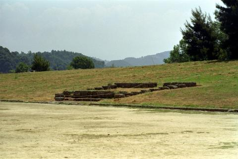 Ancient Olympics - Judges' Stand Geography Sports Ancient Places and/or Civilizations