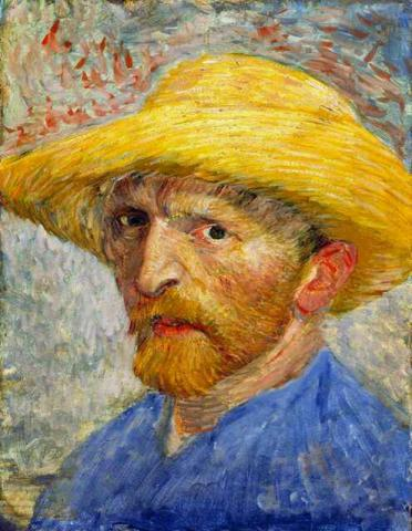 Self-Portrait with Straw Hat Biographies Famous People Tragedies and Triumphs Visual Arts Nineteenth Century Life