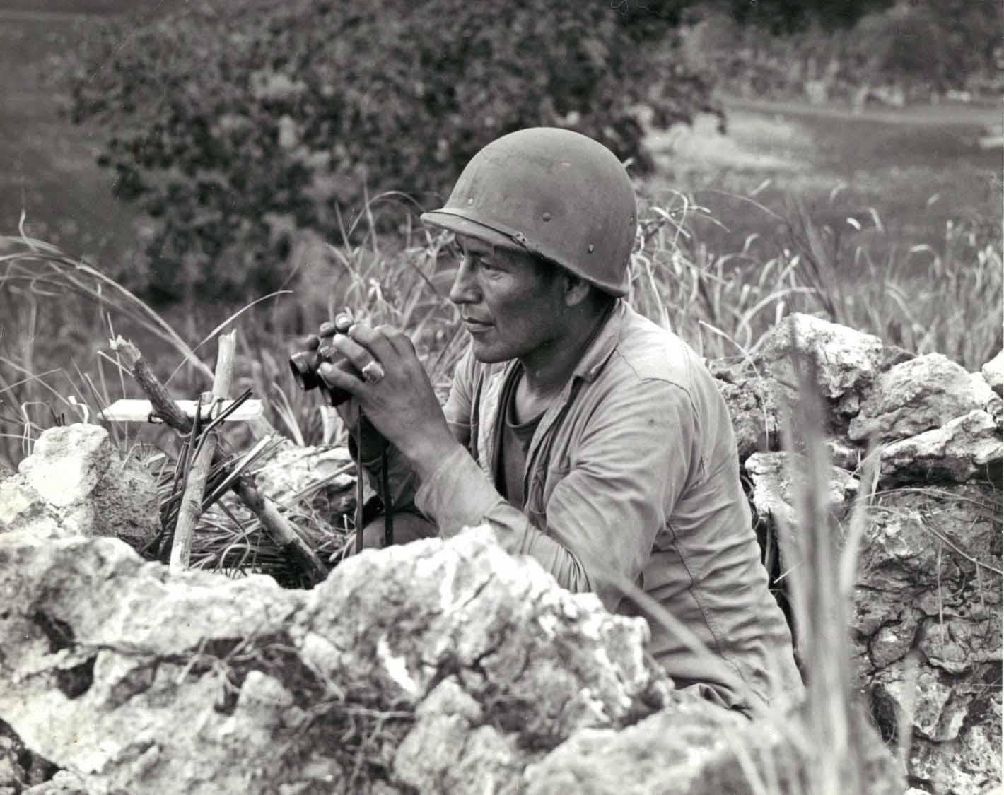 Navajo code talkers of world war
