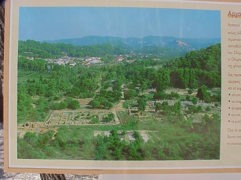 View of Ancient Olympia Ancient Places and/or Civilizations Sports Tragedies and Triumphs Famous Historical Events Geography