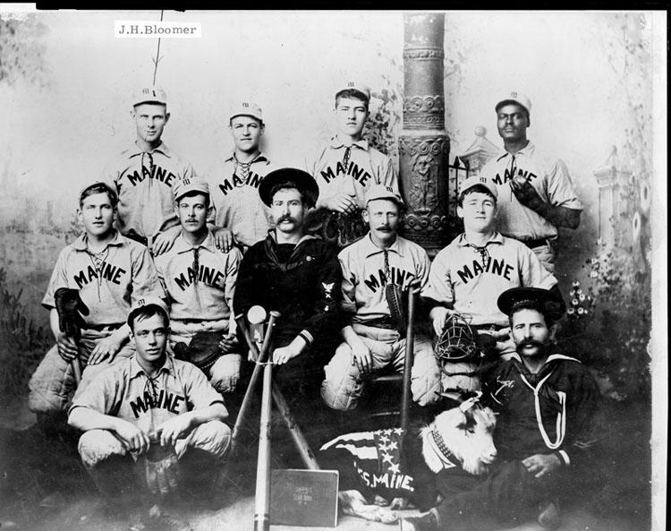 Uss Maine S Baseball Team And The Spanish American War