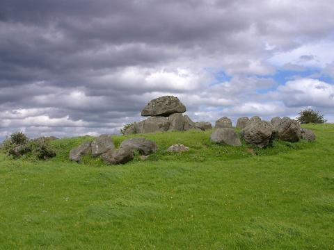 Irish Countryside and Prehistoric Grave Sites Social Studies Visual Arts World History Ancient Places and/or Civilizations