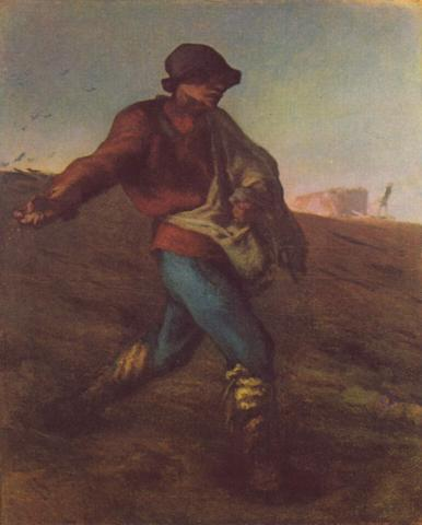 Jean-Francois Millet - The Sower Social Studies Tragedies and Triumphs Nineteenth Century Life Visual Arts