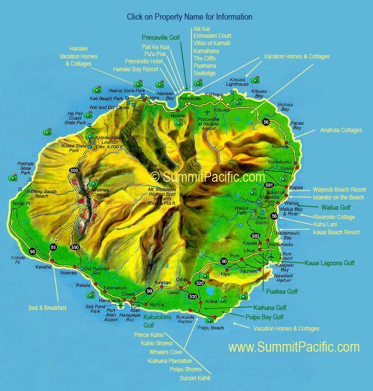 Kauai   The Garden Island Visual Arts Geography Social Studies World History