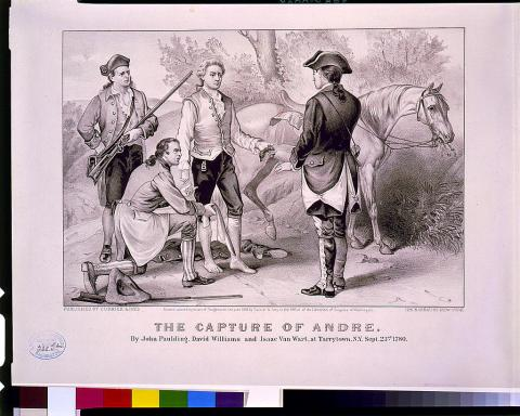 John Andre - Documents Found in Spy's Boot American History American Revolution Biographies Famous People History Revolutionary Wars Social Studies Visual Arts