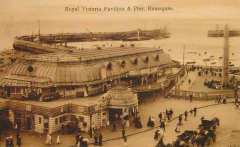 Ramsgate - Royal Victoria Pavilion and Pier Biographies Famous People Geography Social Studies Tragedies and Triumphs Nineteenth Century Life