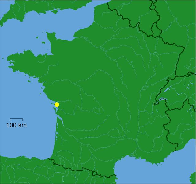 Map Of France La Rochelle.La Rochelle Map