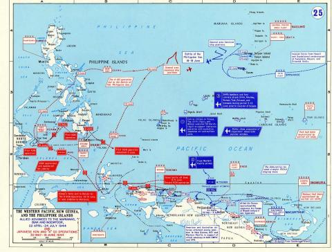 U.S. Invasion Forces - Map Locator American History Geography World War II World History